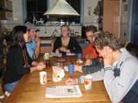 De Nachtdravers in vergadering