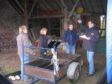 Coordinator Jan de Boer instrueert de medebestuursleden