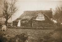 Deze uit plaggen opgetrokken woning uit 1910 stond iets ten noorden van de huidige Stobbepoelweg. Bewoond door Geesien Achttien.