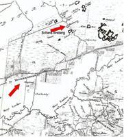 Kaart uit het jaar 1685