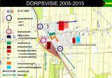 Kaart Dorpsvisie Donkerbroek 2010-2030
